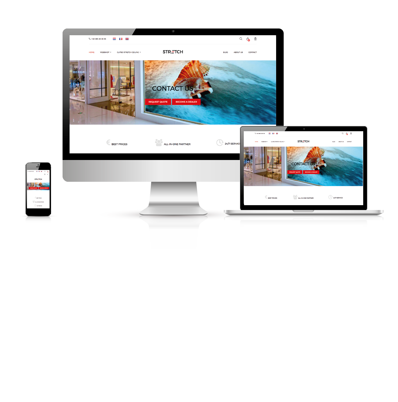 Un nouveau website !